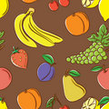 Fruits color pattern Stock Photo