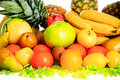 Fruits combination Royalty Free Stock Images