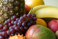 Fruits compostion Royalty Free Stock Images