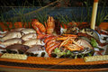 Fruits de mer grecs Photo stock