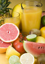 Fruits drink Stock Photos