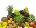Fruits Horizontal Angle Royalty Free Stock Image