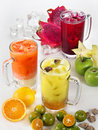 Royalty Free Stock Image Fruits Juice