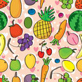 Fruits love seamless pattern eps illustration of lovely this file info version illustrator document inches width height document Royalty Free Stock Photo
