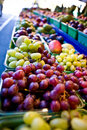 Fruits on a market stall Royalty Free Stock Photo