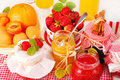 Fruits preserves Royalty Free Stock Image