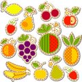 Fruits set Royalty Free Stock Photo
