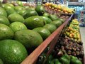 Fruits in supermarkets with bright colors and clean from rotten
