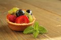 Fruits tart Stock Photography