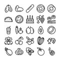 Fruits and Vegetable Icons