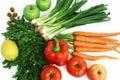 Fruits vegetables Στοκ εικόνα με δικαίωμα ελεύθερης χρήσης