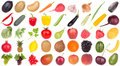 Stock Photo Fruits and vegetables food