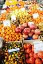 Fruits and vegetables market, Royalty Free Stock Image