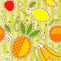 Fruits wallpaper Stock Images