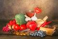 Fruity antioxidants Royalty Free Stock Photo