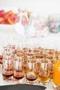 Fruity apertifs Royalty Free Stock Photo