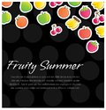 Fruity background Royalty Free Stock Photos