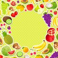 Fruity Background Royalty Free Stock Photo