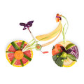 Fruity bicykl. Obraz Royalty Free