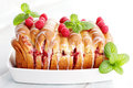 Fruity brioche homemade sweet food Royalty Free Stock Photography