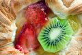 Fruity dessert Royalty Free Stock Images