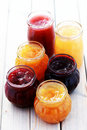 Fruity jam Royalty Free Stock Images