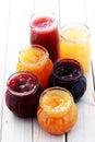 Fruity jam Royalty Free Stock Photo