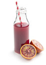 Fruity juice in glass Royalty Free Stock Photo