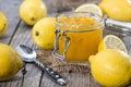 Fruity Lemon Jam Royalty Free Stock Images