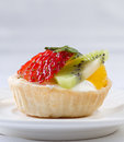 Fruity tart Royalty Free Stock Photos