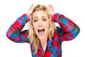 Frustration and Stress Royalty Free Stock Photo