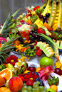 Fruta-parte Fotografia de Stock