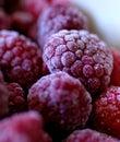 Frutas congeladas Fotos de archivo