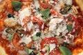 Frutti di mare della pizza Immagini Stock Libere da Diritti