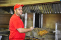 Fry Cook Royalty Free Stock Photo