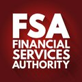 FSA - Financial Services Authority acronym, business concept background Royalty Free Stock Photo