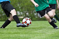 Fußball-Tätigkeit Lizenzfreie Stockfotografie