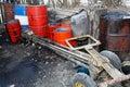 Fuel black market Stock Photos