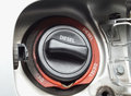 Fuel filler cap close up of diesel car Royalty Free Stock Photo