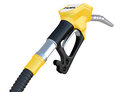 Fuel pump nozzle Stock Image