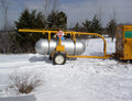 Fuel Tank Delivery - ENERGY Royalty Free Stock Photo