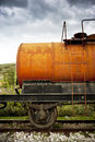 Fuel tank wagon Royalty Free Stock Photo