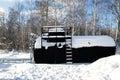 Fuel Tank XXXL Royalty Free Stock Photo