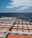 Fuencaliente saltworks, La Palma, Canary islands Royalty Free Stock Photo