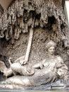 Fuente en Roma, Italia Imagenes de archivo