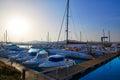 Fuerteventura caleta del fuste canary islands puerto castillo at of spain Stock Image