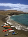 Fuerteventura canary islands is one of the in the atlantic ocean off the coast of africa politically part of spain it was declared Stock Images