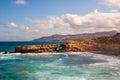 Fuerteventura pared beach canary islands spain la at Stock Photo
