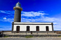Fuerteventura_Puerto de la Cruz Lighthouse Stock Photo
