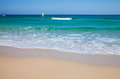 Fuerteventura, white sand beach Stock Photography
